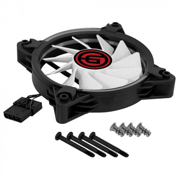 CASE FAN GINZZU RGB 12R4 S