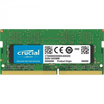 Crucial DDR4 SODIMM 8GB CT8G4S24AM PC4-19200, 2400MHz for Mac