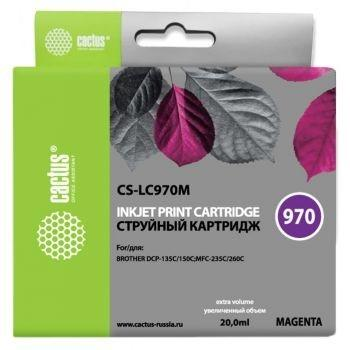 CACTUS  LC-970M Картридж  для Brother Brother DCP-135C/150C/MFC-