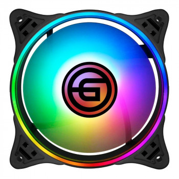 CASE FAN GINZZU RGB 12F6