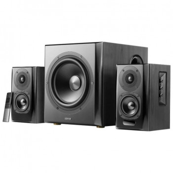 Колонки Edifier S351DB Black <2.1,150W RMS, дерево, Bluetooth ap