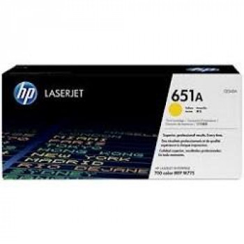 HP CE342A Картридж 651A ,Yellow{LaserJet 700 Color MFP 775, Yell